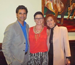 John and Loretta Stamos w-Sarah Amento
