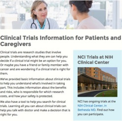 NCI Clinical Trials